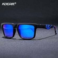 KDEAM Outdoor Sunglasses Men Sky-stars Pattern Sunglass Full UV400 Anti-Reflective Mirror Sun Glasses Women With Package