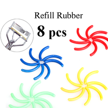 Make Up 8x Replacement Eyelash Curler Refill Rubber Pads Plastic Beauty Tool High Quality