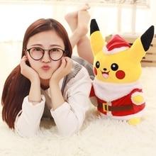 35cm Pikachu Plush Toys Children Gift Cute Soft Toy Cartoon Pocket Monster Animal Kawaii Baby Kids
