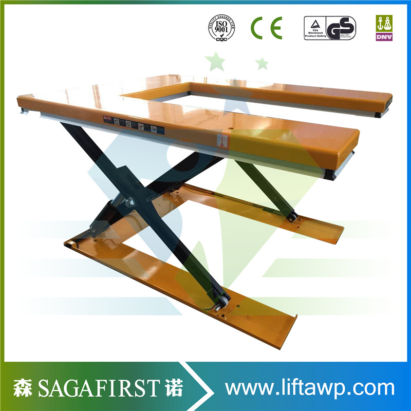 Electric Hydraulic Platform U Shape Lifting Table Equipment