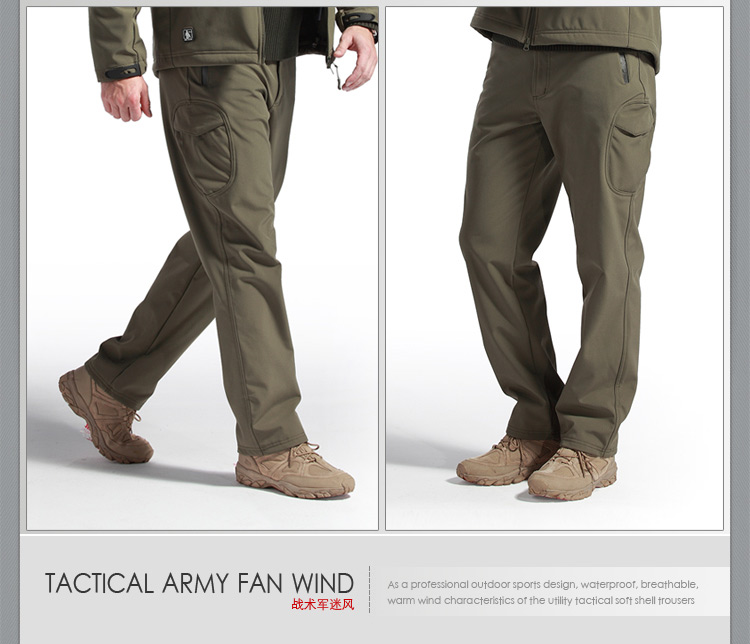 Man TAD Waterproof Hardshell breathable Outdoor Pants Men Sport Tactical Military Trousers Army Camouflage Pants Atac Atac FG