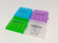 цена на 100pcs/lot New Mini Portable Plastic Battery Case Holder Storage Box For AAA AA Battery Rechargeable Full Cover Top Quality