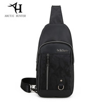 ARCTIC HUNTER Patchwork Color Messenger Bags Brand CHEST BAG MEN Simple Wild Style Fashion Crossbody Bags