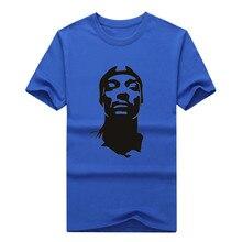 2017 Fashion Snoop Dogg Rap Hip Hop Music T-shirt Tee 100% Cotton T shirt 1113-9 Hot
