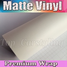 Атласная белая виниловая пленка для автомобиля с воздушным выпуском матовая виниловая обертка для автомобиля ping Cover 1,52×30 м/рулон (5ftx98ft)