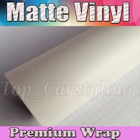 Satin White Vinyl Car Wrap Film With Air release Matte Vinyl Vehicle Wrapping Covering 1.52x30m/Roll (5ftx98ft)