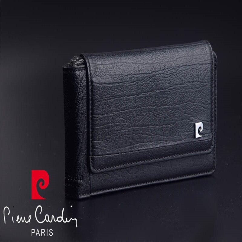 Pierre Cardin étui en cuir véritable rétro pour Apple iphone 8/8 Plus pochette de téléphone pour iphone X sac de ceinture de Style suspendu livraison gratuite