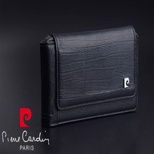 Pierre Cardin Retro Genuine Leather For Apple iPhone 8/8 Plus Phone Pouch For iphone X SE 2020 Hanging Style Belt Bag