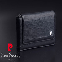 Pierre Cardin Retro Genuine Leather Case For Apple iPhone 8/8 Plus Phone Pouch For iphone X Hanging Style Belt Bag Free Shipping