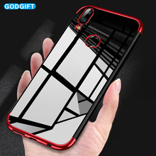 GodGift Huawei P20 Lite Case Luxury Plating Silicone Soft TPU Cover For Huawei P20 Pro Back Cover P10 Lite Plus Phone Cases