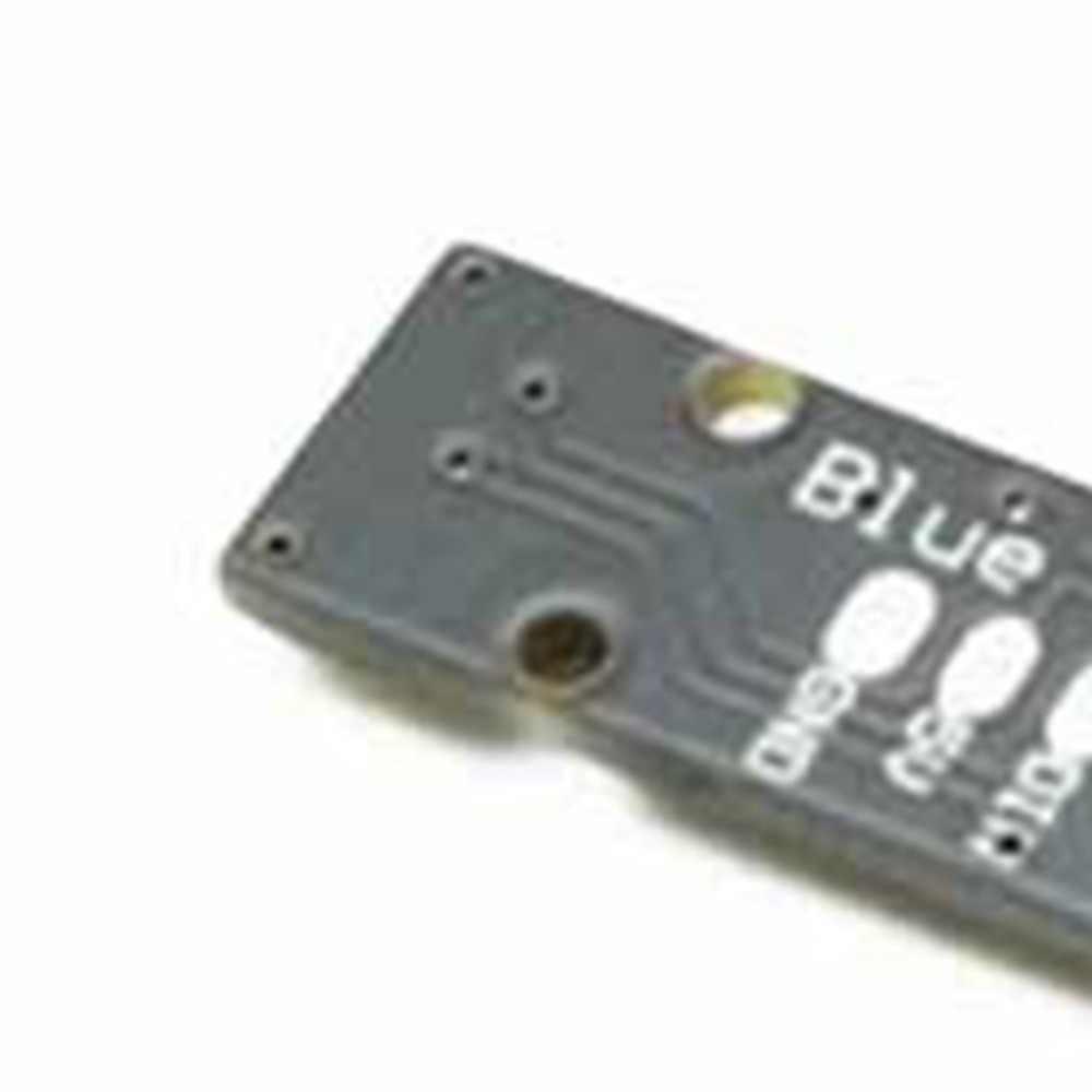 Tira de LED Super Mini portátil con 4 WS2812B RG85050 lámpara LED colorida para Naze32 CC3D controlador de vuelo RC Drone