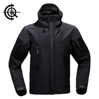 CQB High Quality Winter Outdoor Softshell Jacket Men Fishing Camping Hunting Clothes Waterproof Ski Jacket CYF0013