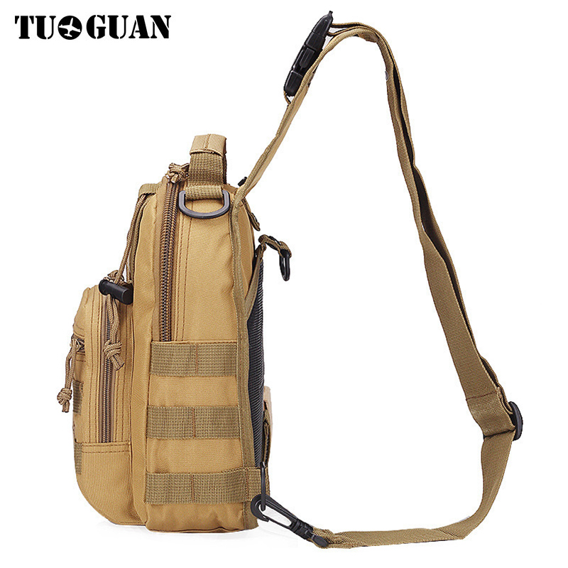 Men Chest Bags Waterproof Oxford Women Shoulder Crossbody Camouflage Small Bag Casual Travel Utility Flap Handbags