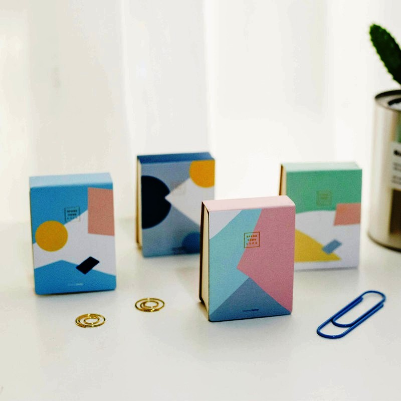 """""""Spark Life"""" Cute Pocket Mini Diary Lined Notebook Hand Memo Pad Study Journal Stationery Gift"""