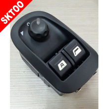 Front Glass Lifter Switch for Peugeot 206 207 Citroen C2  Electric Window  Lifter Switch цены