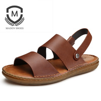 A Pair Of Men S Sandals For The New Summer Men S Sandal Sandal Shoes