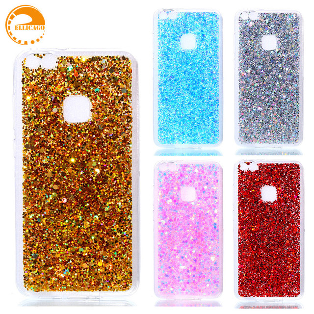 info for 17d8c c360b US $2.61 29% OFF|huawei p10 lite case huawei p10 lite cover luxury bling  glitter cover soft silicon coque p 10 lite phone case huawei p10lite-in ...