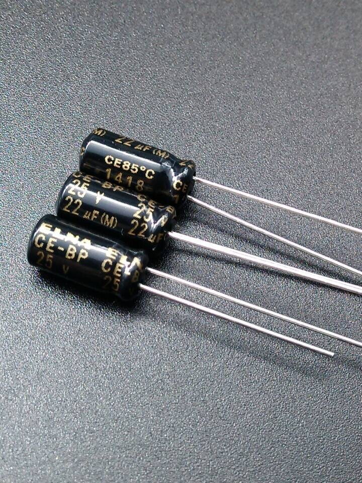 2019 Hot Sale 10pcs/30pcs New EL ELNA RBD Authentic Origl 22uF/25V Spot Promise Audio Capacitor 22uf 25v Free Shipping