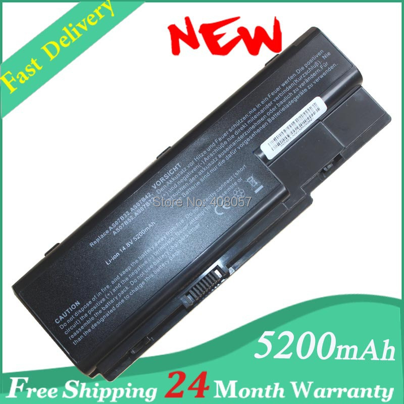 8 Cell Battery For Acer AS07B32 AS07B42 AS07B52 AS07B72 Aspire 5910G 5935G 5940G
