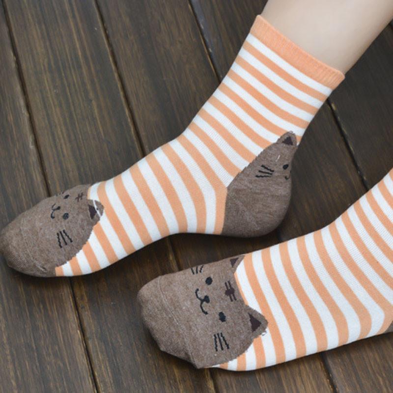 Cute Socks With Cartoon Cat For Cat Lovers Cute Socks With Cartoon Cat For Cat Lovers HTB1S QhQVXXXXbrXFXXq6xXFXXXW