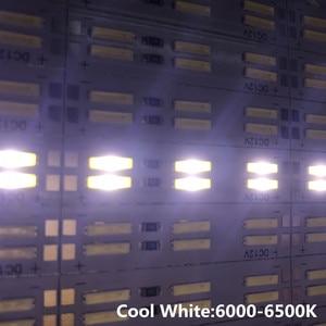 Image 2 - קוריאה שבב SMD 8520/7020/5630 Led רצועת אור כפול שורה 120 נוריות/m קשיח בר 25cm 50cm מגניב לבן Led קשיח הרצועה