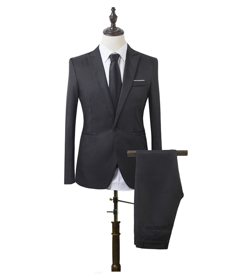 Luxury Men Wedding Suit Male Blazers Slim Fit Suits For Men Costume Business (1)
