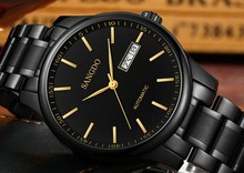 40mm Sangdo Luxury watches Automatic Self-Wind movement Sapphire Crystal High quality 2017 new fashion Men's watch GBD73A