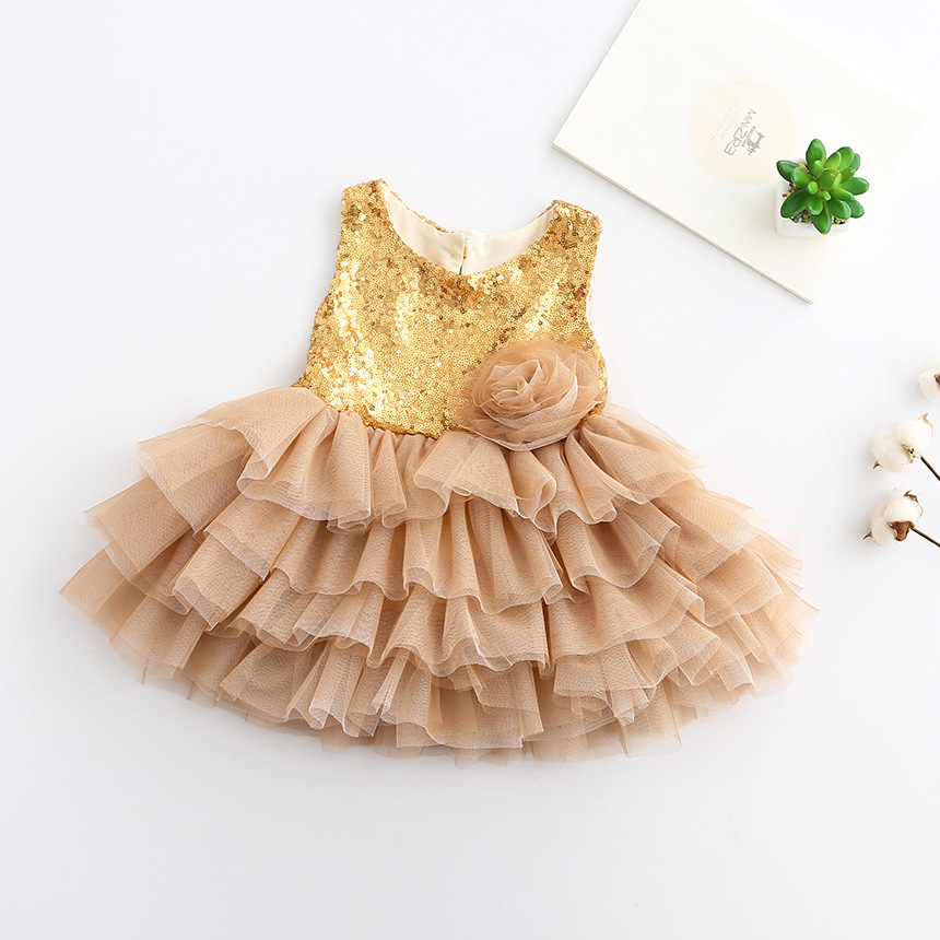 2017 Girls sequins toddler girl dresses , girls tulle dress ,dress JYF009