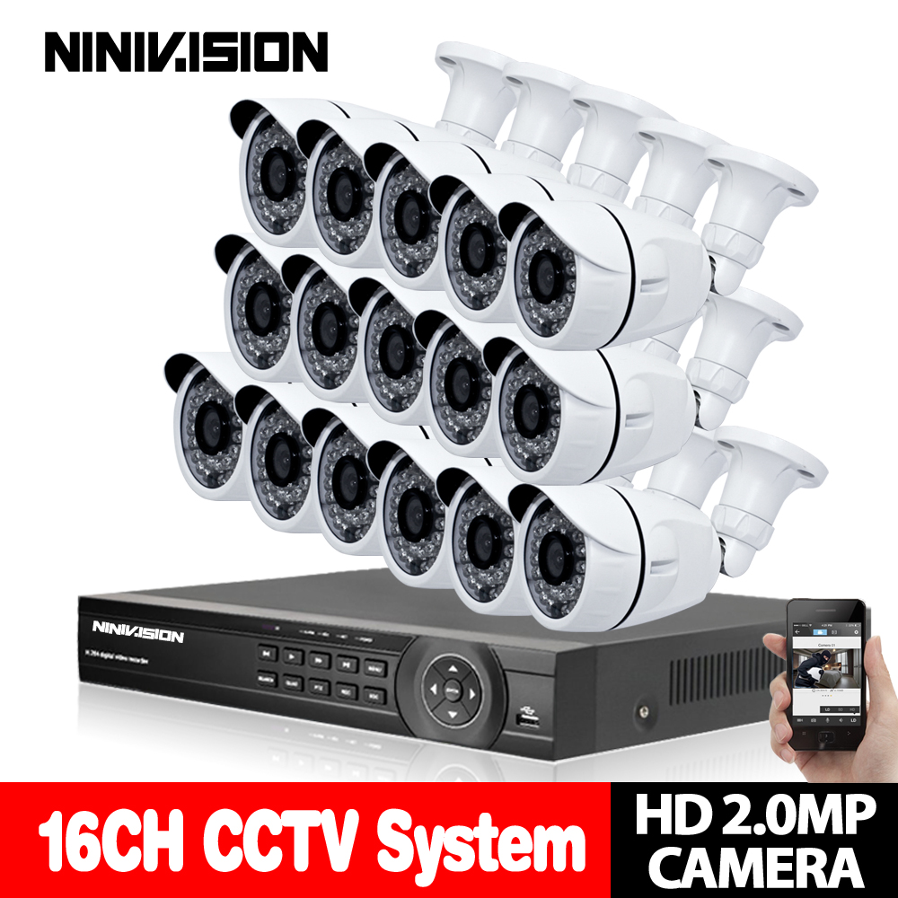 16CH CCTV System 1080P DVR kit AHD-H CCTV Video Recorder 1920*1080 2.0MP CCD IMX322 Surveillance Camera Home security system16CH CCTV System 1080P DVR kit AHD-H CCTV Video Recorder 1920*1080 2.0MP CCD IMX322 Surveillance Camera Home security system