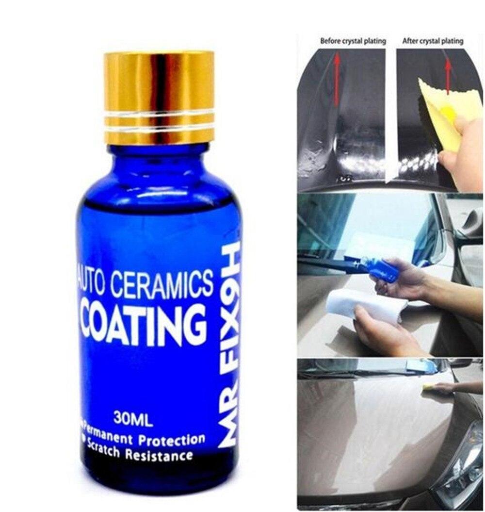 Car Washing Care Liquid Ceramic Coat For Car Paint Care Car Enamel Motorcycle Super Mr Fix Hot Glass Coating Auto Care
