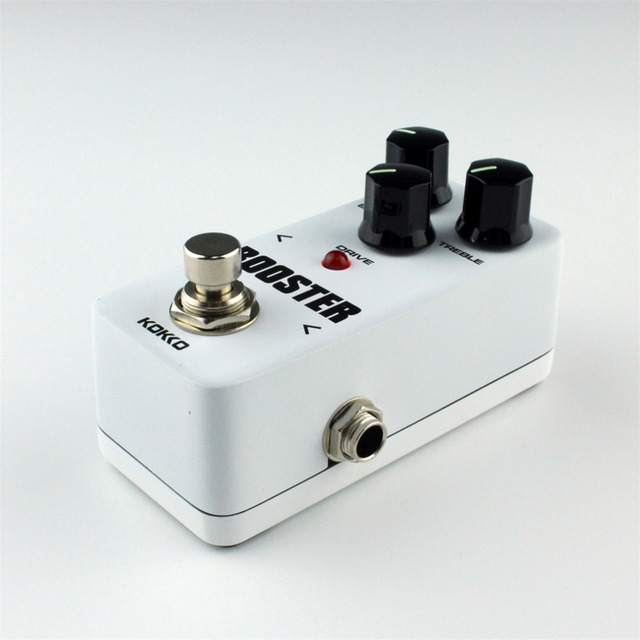 FBS-2 Mini Overdrive Guitar Effect Pedal Guitarra Overdrive Booster High-Power Tube Guitar Two Segment EQ Effect Device