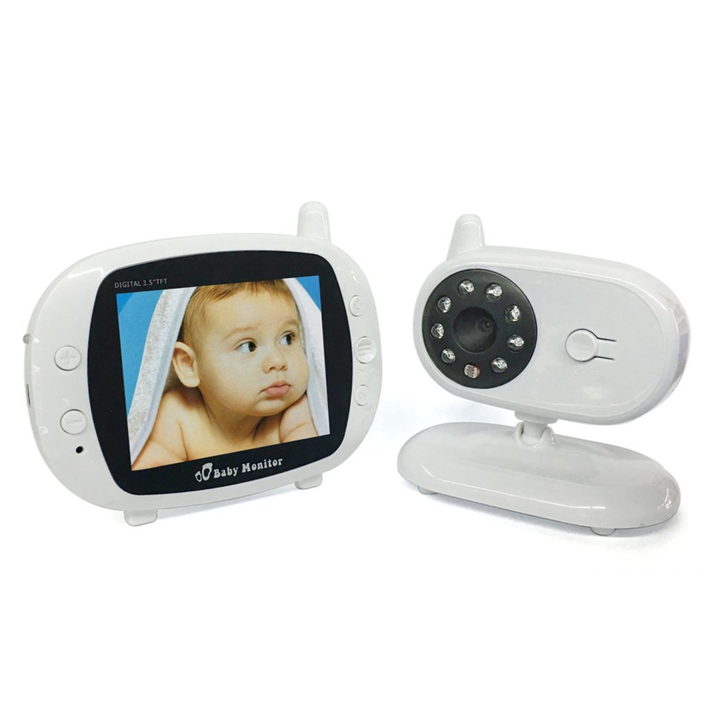 TFT LCD Digital Monitor Babysitter 3.5 inch Wireless Video Baby Monitor Color Two Way Talk Infant Night Vision Camera цена 2017