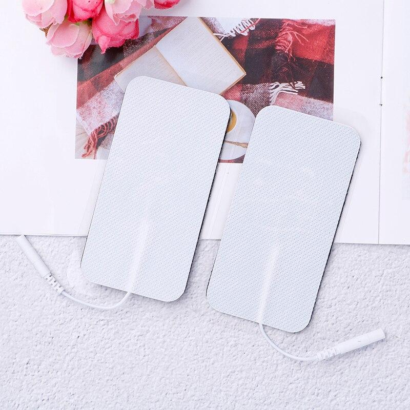 2 teile/los Elektrode Pads Für Tens Akupunktur Digitale Therapie Maschine Abnehmen Elektrische Körper Massager Pads
