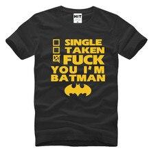 Funny Spoof Movie BATMAN Letter Printed Mens Men T Shirt Tshirt Fashion 2016 New O Neck Cotton T-shirt Tee Camisetas Hombre