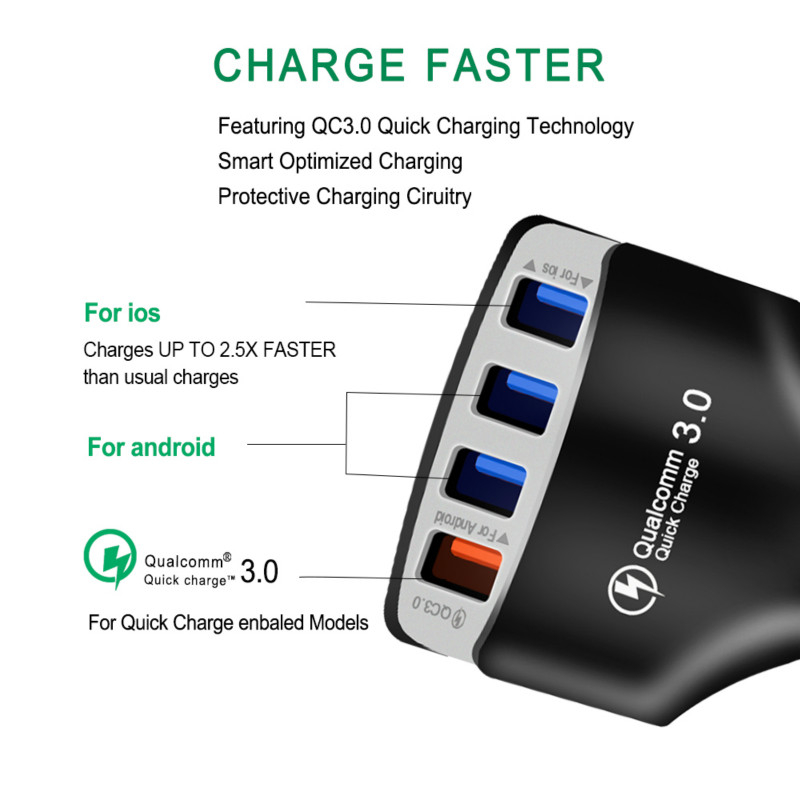 Quick Car Charger Adapter  1