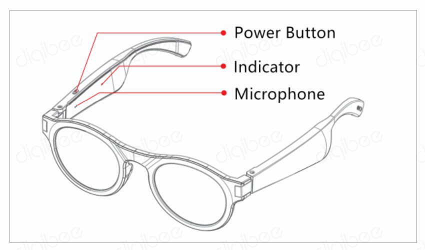 Ipx4 à prova dwaterproof água óculos de