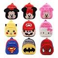 Alta Qualidade Crianças Escola Bag Plush Dos Desenhos Animados Do Brinquedo Do Bebê Mochila Sacos de Presente Para As Crianças Da Escola Mochilas mochila escolar Menino Gril