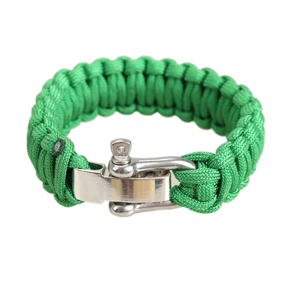 New Arrivals Men Women Pocket Adjustable Parachute Cord  Rope Bracelet Lifeline Outdoor Sports Climbing Survival Security Tools