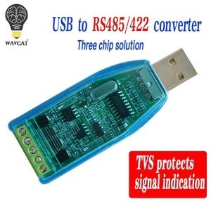 Image 2 - อุตสาหกรรมUSB RS485 422 CH340G Converterอัพเกรดป้องกันConverterมาตรฐานความเข้ากันได้RS 485 Aโมดูล