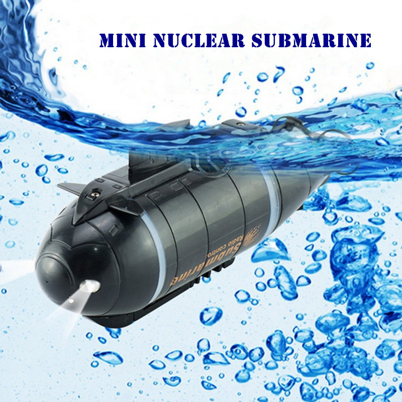 777-216 Mini Nuclear Submarine Wireless RC High Speed Racing Boat for Adventure Remote Control Toys with 40MHz Transmitter ~