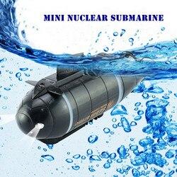 777-216 Mini Submarino Nuclear Sem Fio RC Alta Velocidade do Barco de Corrida de Aventura Brinquedos De Controle Remoto com 40 MHz transmissor ~
