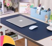 PU Leather table mat desk pad Student laptop keyboard mouse pad Large waterproof writing tablecloth table cover office