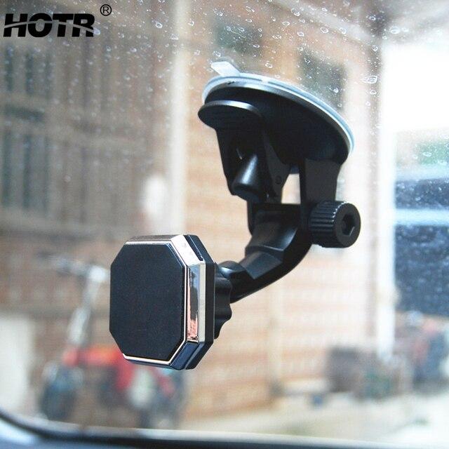 調整可能な磁気カーホルダーマグネット自動車電話ホルダー 360 回転可能なスタンドマウントサポートユニバーサルフロントガラスホルダーフリーハンド