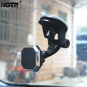 Image 1 - Einstellbare Magnet Auto Halter Magnet Auto Telefon Halter 360 Drehbare Ständer Montieren Unterstützung Universal Windschutzscheibe Halter freies hand