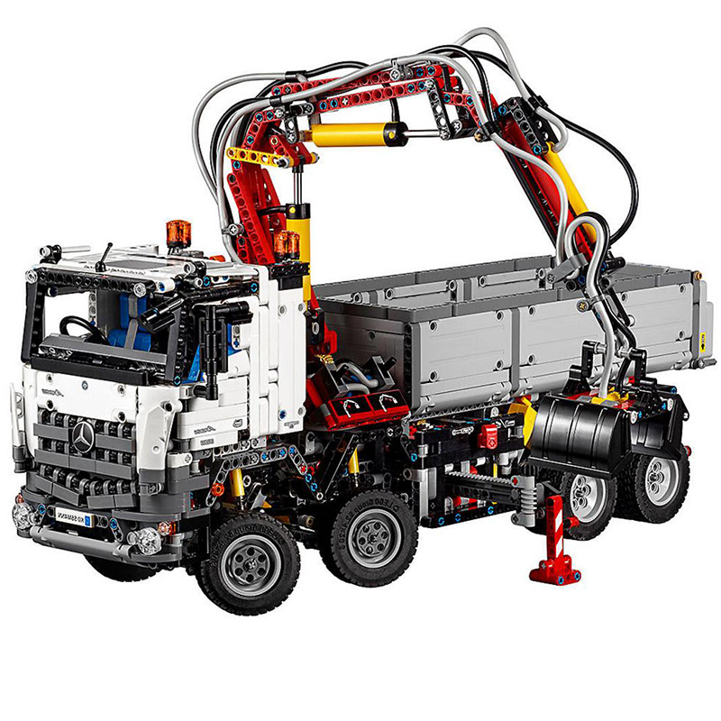 LEPIN 20005 Technology Series 42043 Mercedes-Benz Arocs 3245 Building Blocks 2793pcs Bricks Toys Gift For Children jomoo wall mounted soap dish zinc alloy chrome soap holder with glass dish soap basket bathroom accessories products soap box