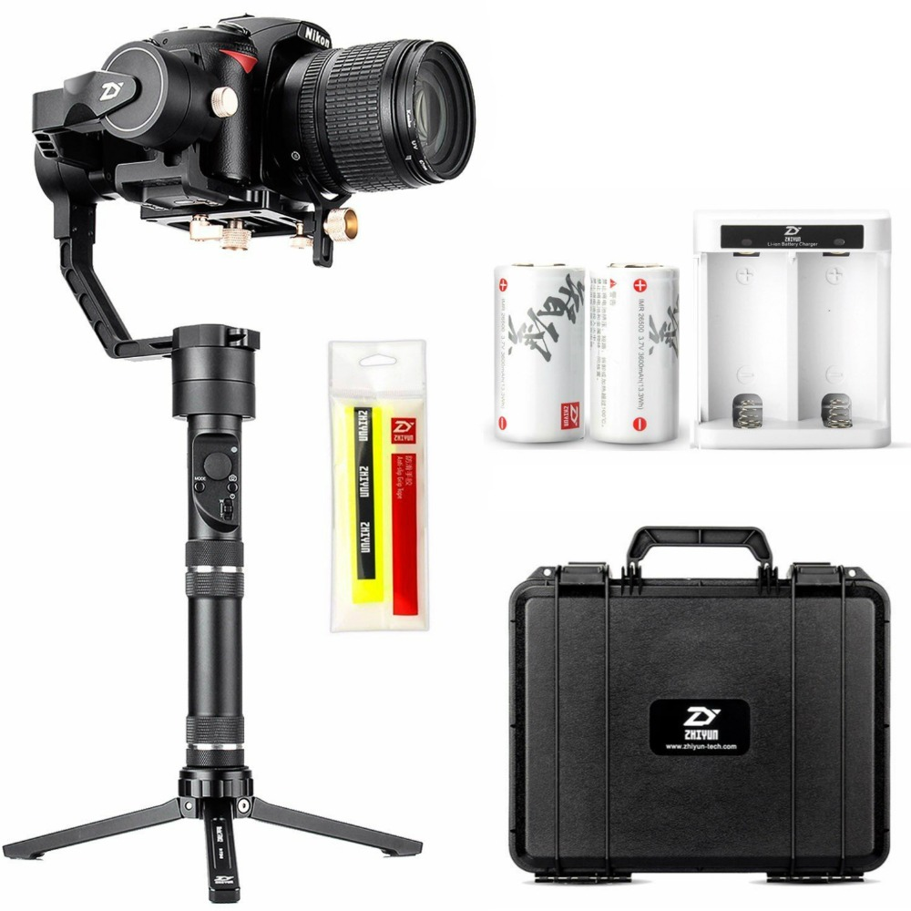 Zhiyun Crane Plus ( Crane v2 Upgrade Version) 3 Axis Handheld Gimbal Stabilizer for Mirrorless and DSLR Camera up to 2.5 kg