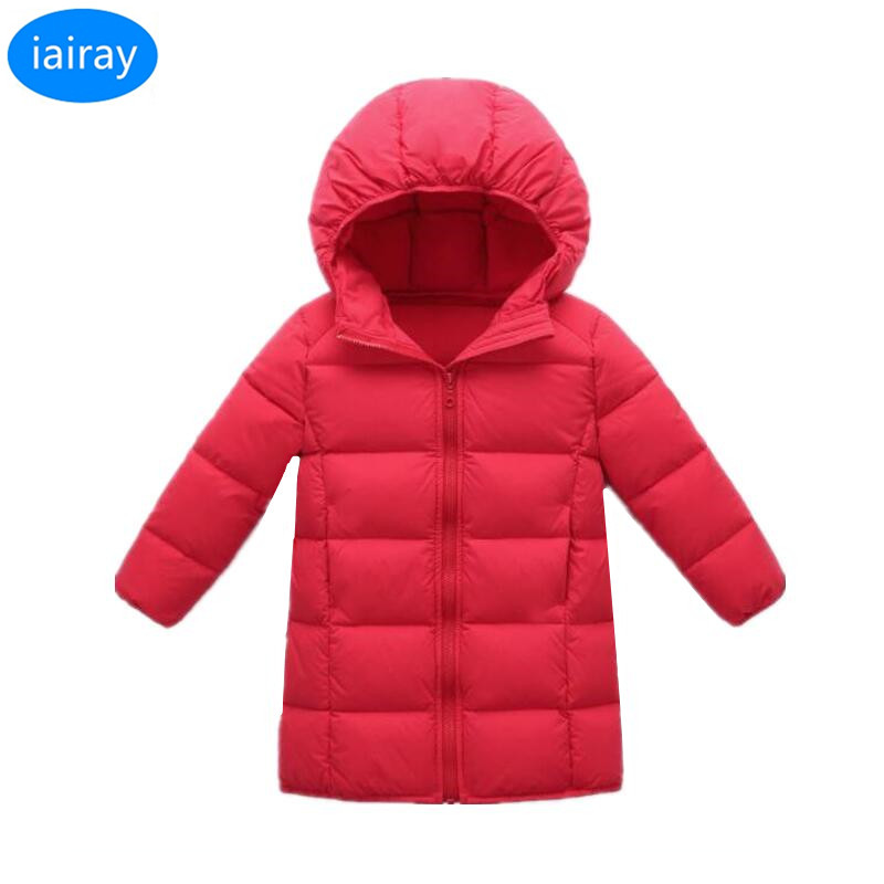 iairay down jacket for girl thick warm outerwear unisex kids long hooded parka winter jacket for girls boys children down coat winter girl jacket children parka winter coat duck long thick big fur hooded kids winter jacket girls outerwear for cold 30 c