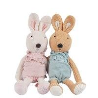1pcs 30 45 60cm Cute Plush Dolls Le Sucre Rabbit Toy Dressed In A Coat For