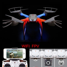 Gratis pengiriman Profesi X101 Drone RC Quadcopter 2.4G 6-Axis RC Helikopter C4005 HD Kamera (FPV) VS X8W X8G Y100
