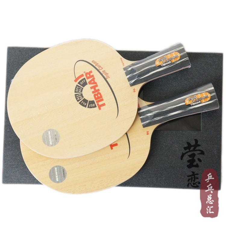 Original Tibhar Triple Carbon table tennis blade table tennis rackets racquet sports fast attack with loop carbon blade diversity management triple loop learning